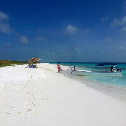 Una playa en Los Roques.Crédito de la foto: Erik Cleves Kristensen