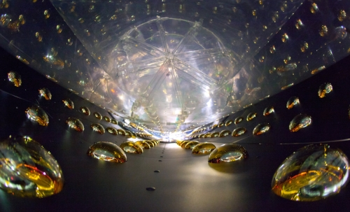 Gran detector de neutrinos de Daya Bay, EE. UU.Foto de Roy Kaltschmidt, Lawrence Berkeley National Laboratory.