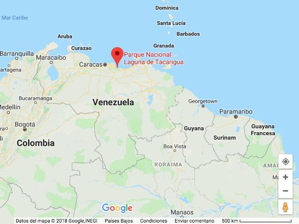 Ubicación según los mapas de Google.