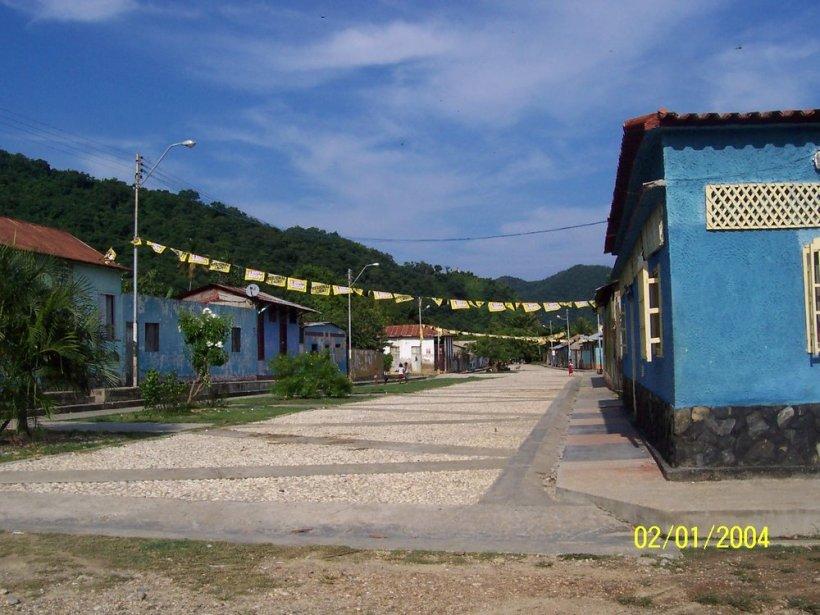 Pueblo de Macuro.